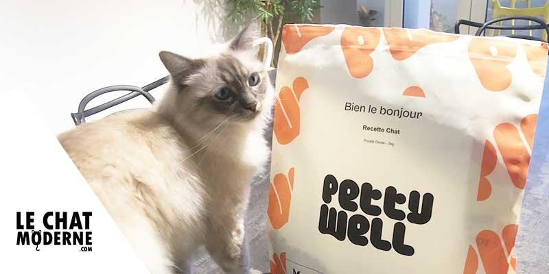 Notre avis sur les croquettes pour chats Petty Well !